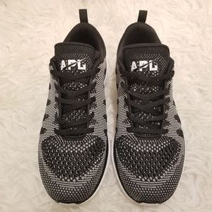 lululemon athletica Shoes - 💕APL💕 Techloom PRO Sneakers Metallic Black White